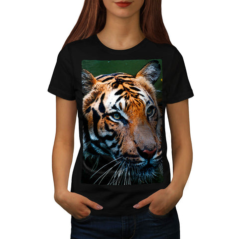 Eyes Of The Tiger Womens T-Shirt