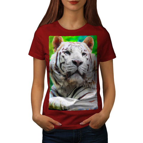 Siberian Tiger Womens T-Shirt
