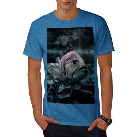 Deep Water Fish Swim Mens T-Shirt