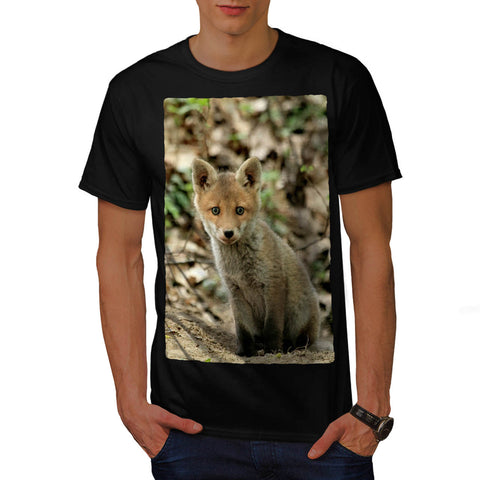 Adorable Red Fox Cub Mens T-Shirt