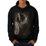 Motion Picture Reel Mens Hoodie