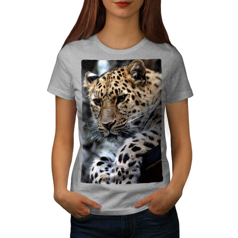 Wild Leopard Look Womens T-Shirt