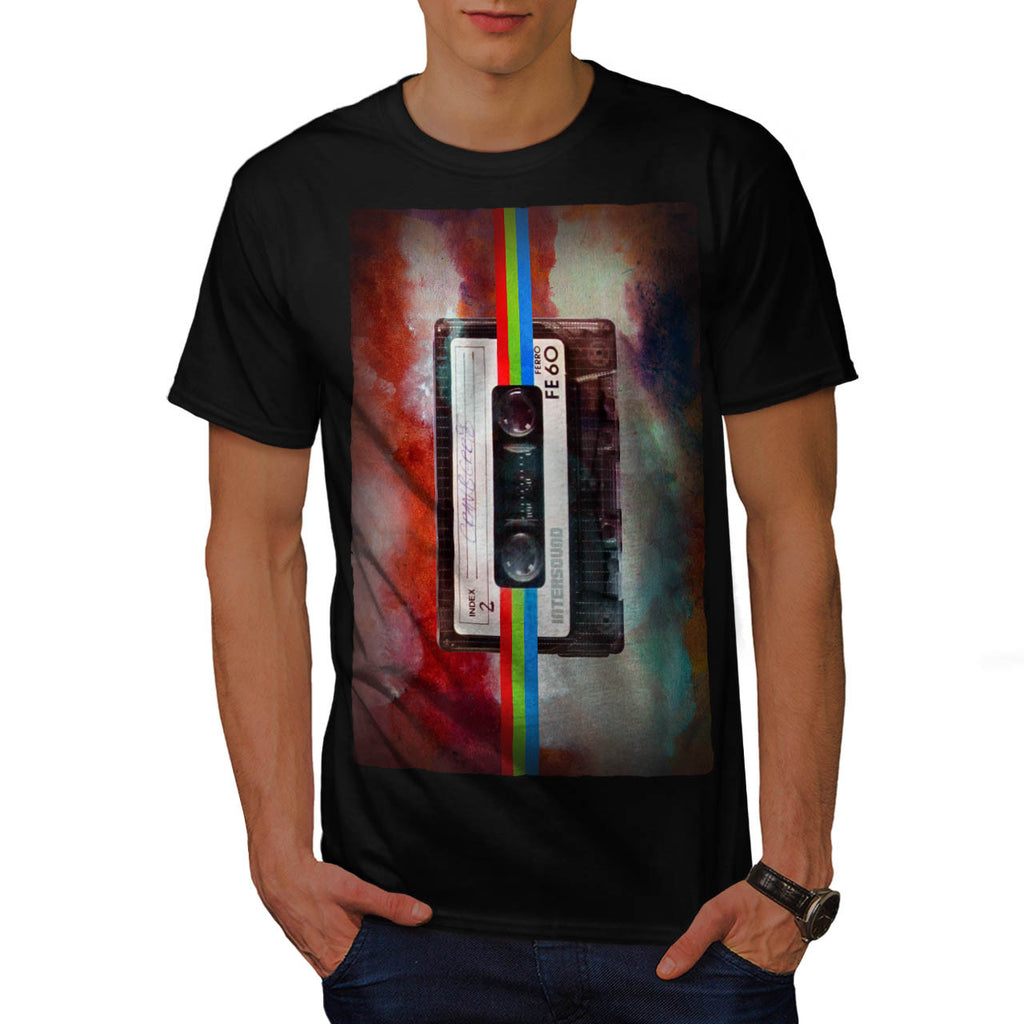 Old Tape Cassette Mens T-Shirt