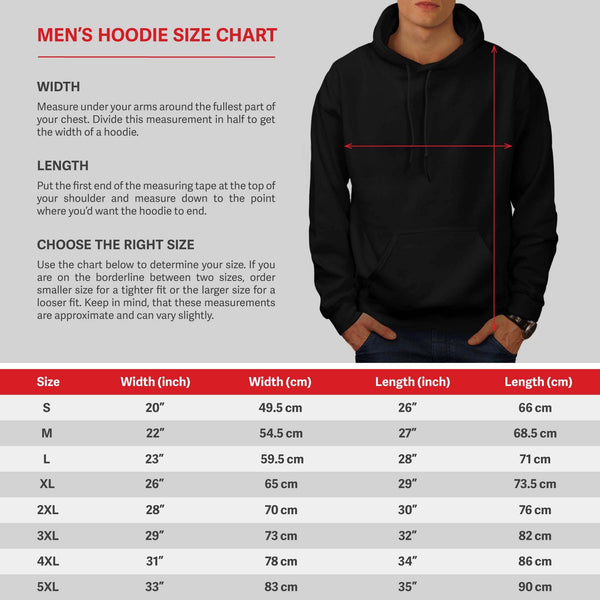 Back To The Roots Mens Hoodie