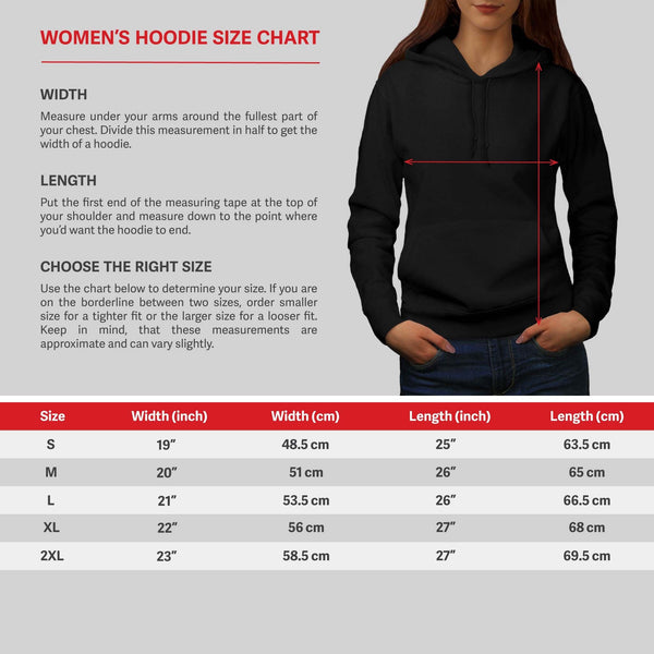 Animal Horse Family Womens Hoodie