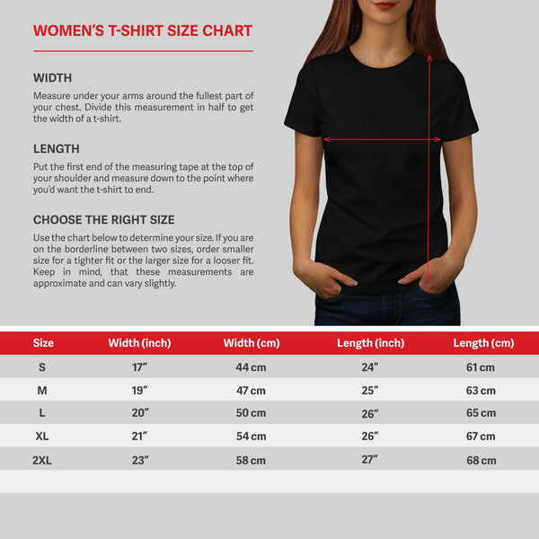 Lady Model Make Up Womens T-Shirt