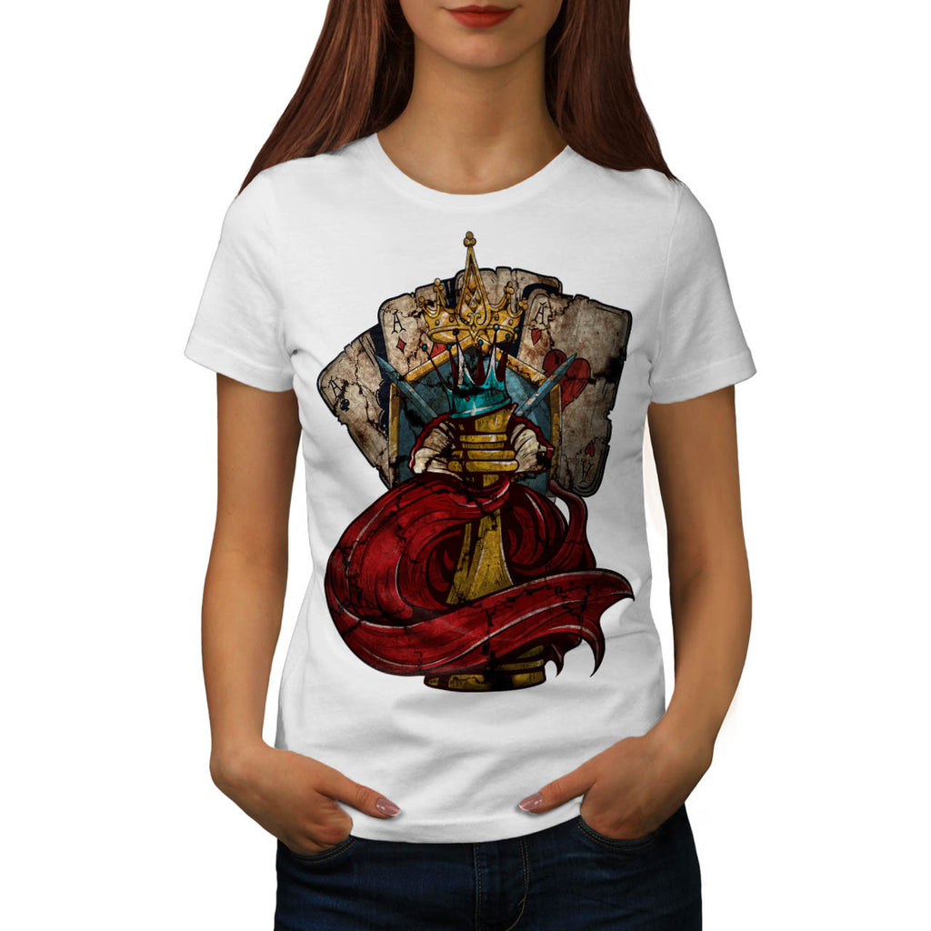 Royal Kingdom King Womens T-Shirt