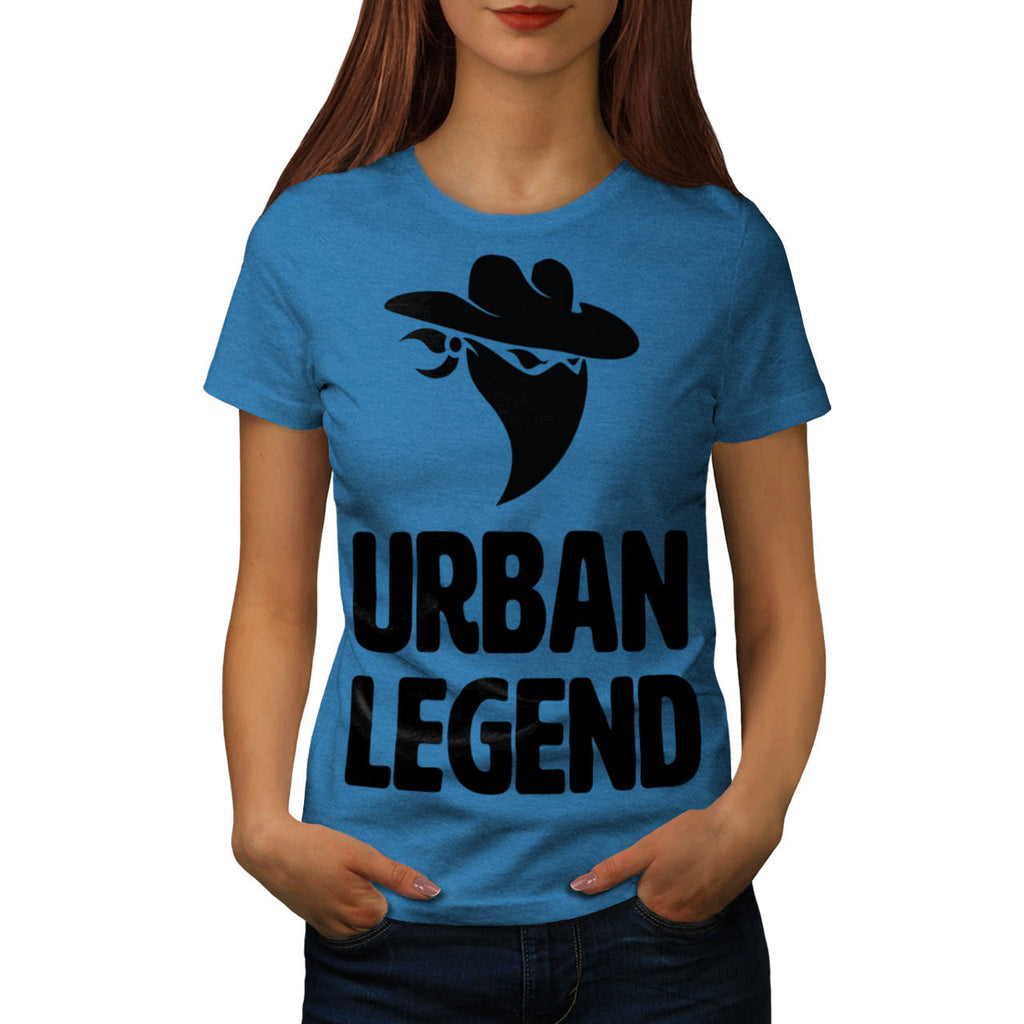 Urban Legend Bandit Womens T-Shirt