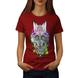 Skull Indian Sugar Womens T-Shirt