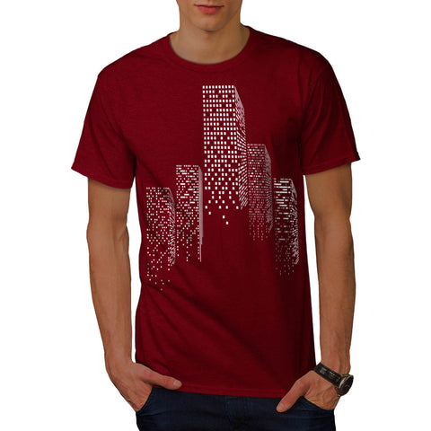 Capital City Sky Line Mens T-Shirt