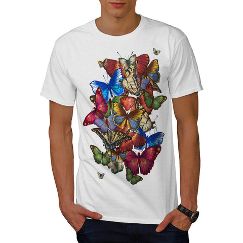 Butterfly Madness Mens T-Shirt