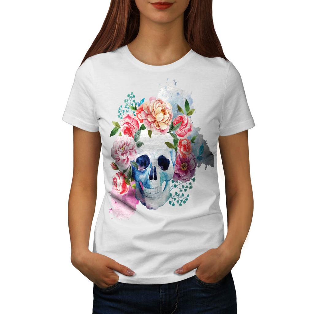 Skull Art Body Beast Womens T-Shirt