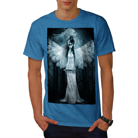 Angel Death Reaper Mens T-Shirt