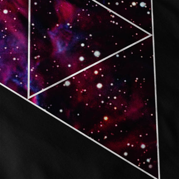 Universe Of Triangles Mens Long Sleeve T-Shirt