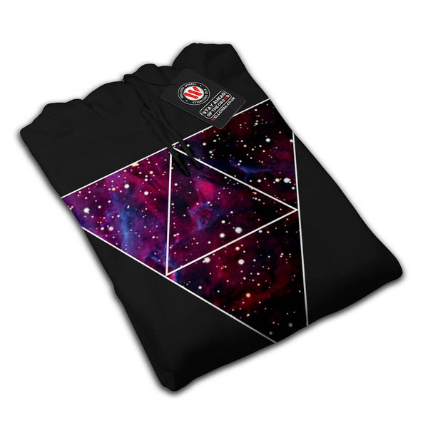 Universe Of Triangles Womens Hoodie