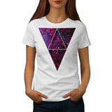 Universe Of Triangles Womens T-Shirt