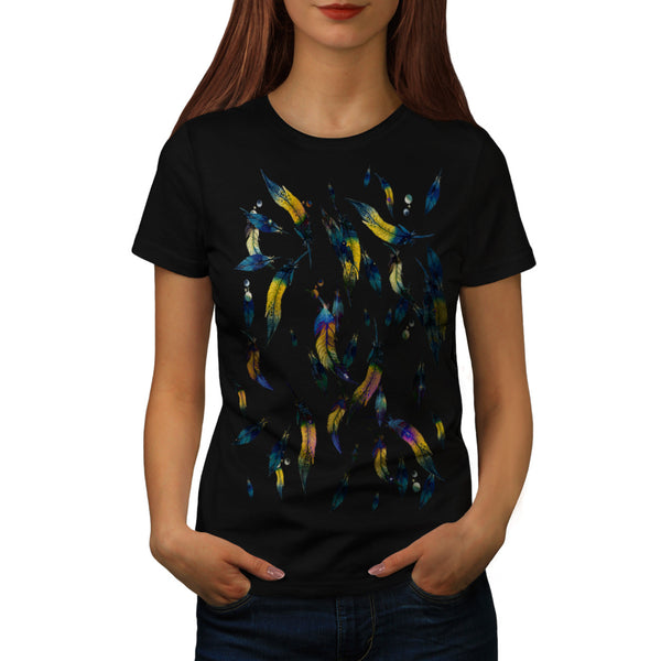 Feather Is Falling Womens T-Shirt