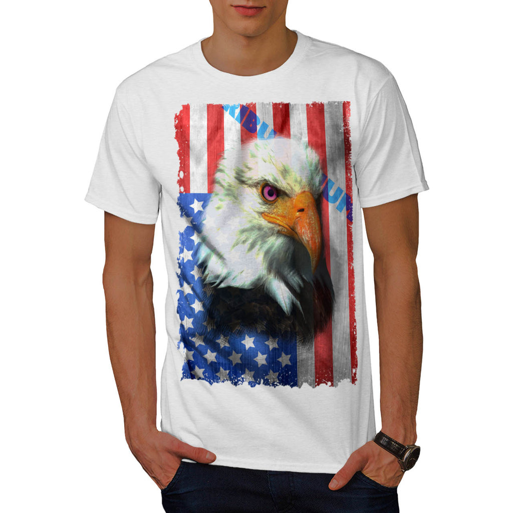 American Eagle Flag Mens T-Shirt