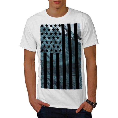 USA Eagle America Mens T-Shirt