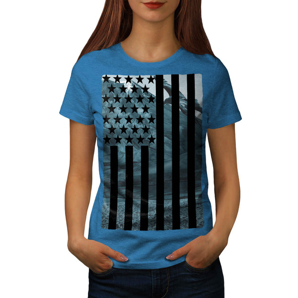 USA Eagle America Womens T-Shirt