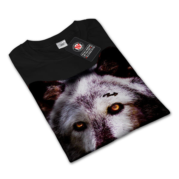 Wild Life Wolf Zoo Mens Long Sleeve T-Shirt