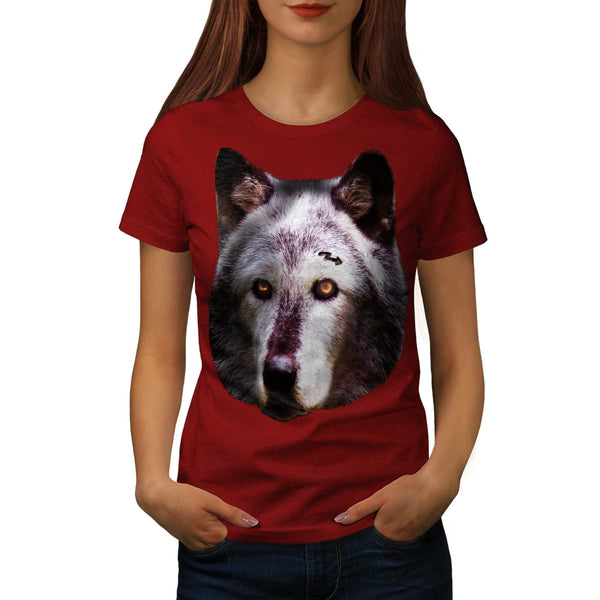 Wild Life Wolf Zoo Womens T-Shirt