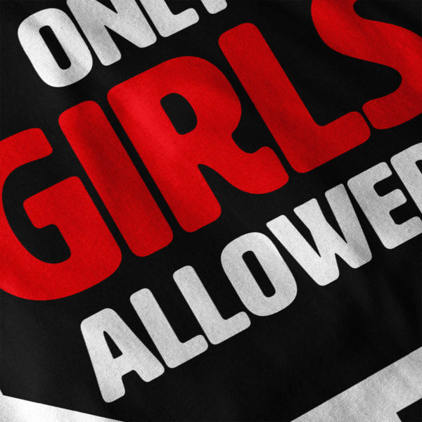 Only Girls Allowed Mens Long Sleeve T-Shirt