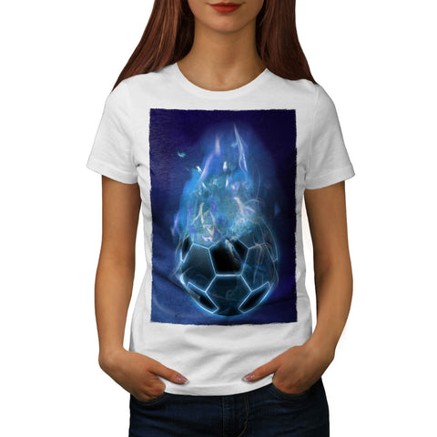 Devil Sport Football Womens T-Shirt