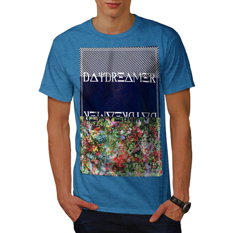Daydreamer Flower Bed Mens T-Shirt