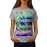 Dont Panic Fun Party Womens T-Shirt