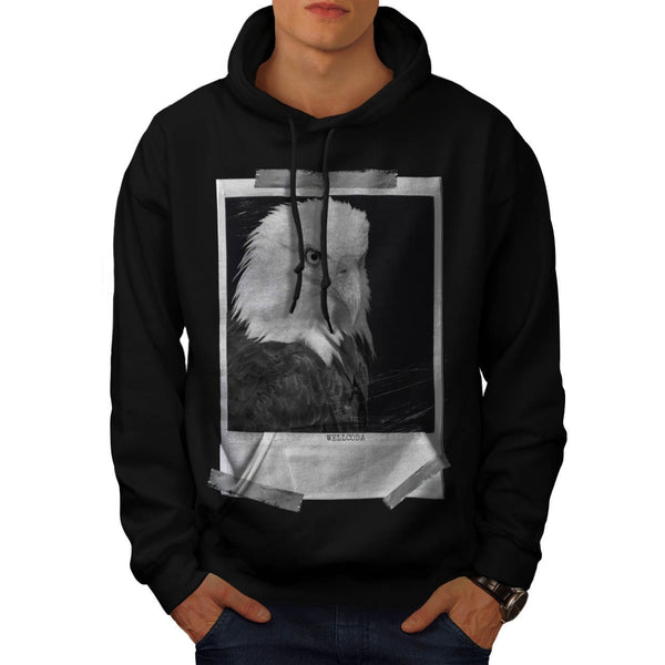 Apparel Eagle Photo Mens Hoodie