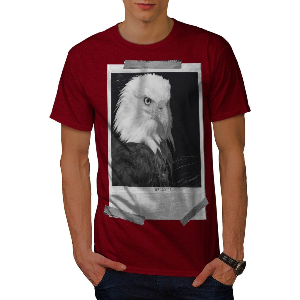 Apparel Eagle Photo Mens T-Shirt