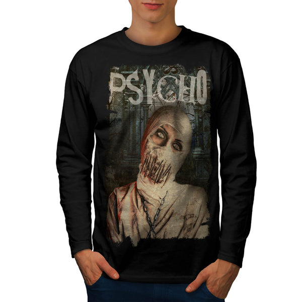 Psycho Monster Sick Mens Long Sleeve T-Shirt