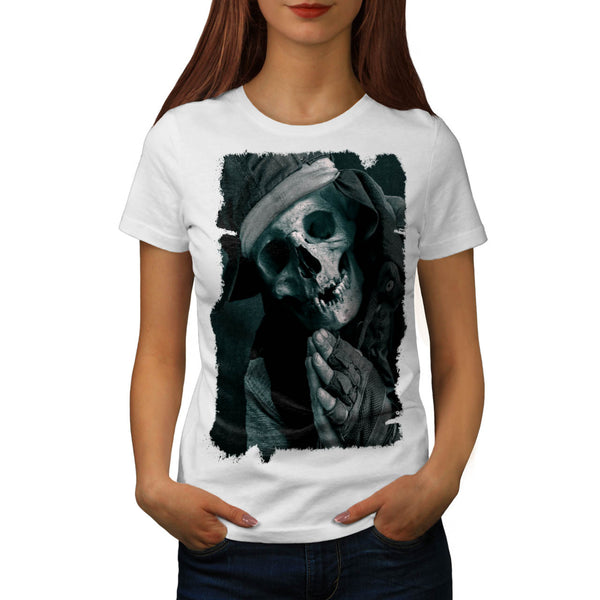 Skull Religion Body Womens T-Shirt
