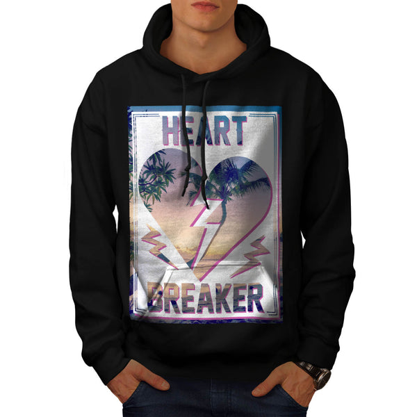 Heart Breaker Holiday Mens Hoodie