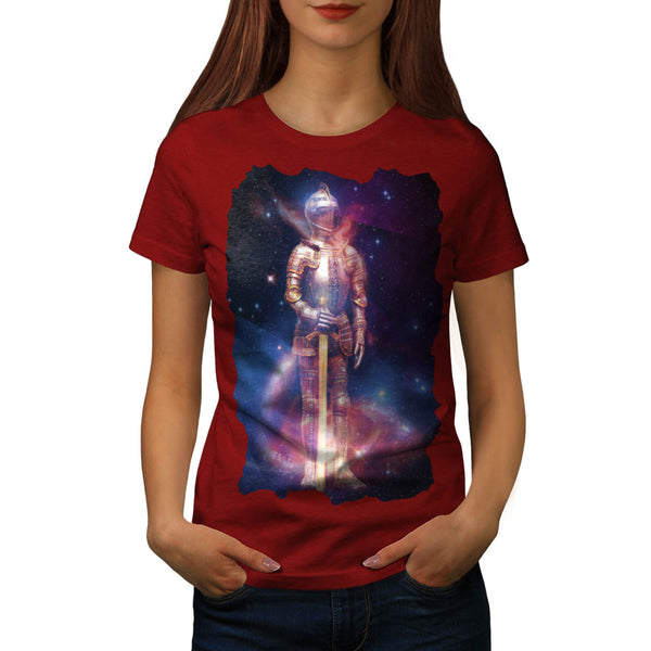 Space People Armor Womens T-Shirt