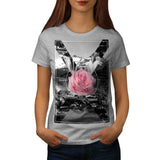 Rocky Mountain Rose Womens T-Shirt