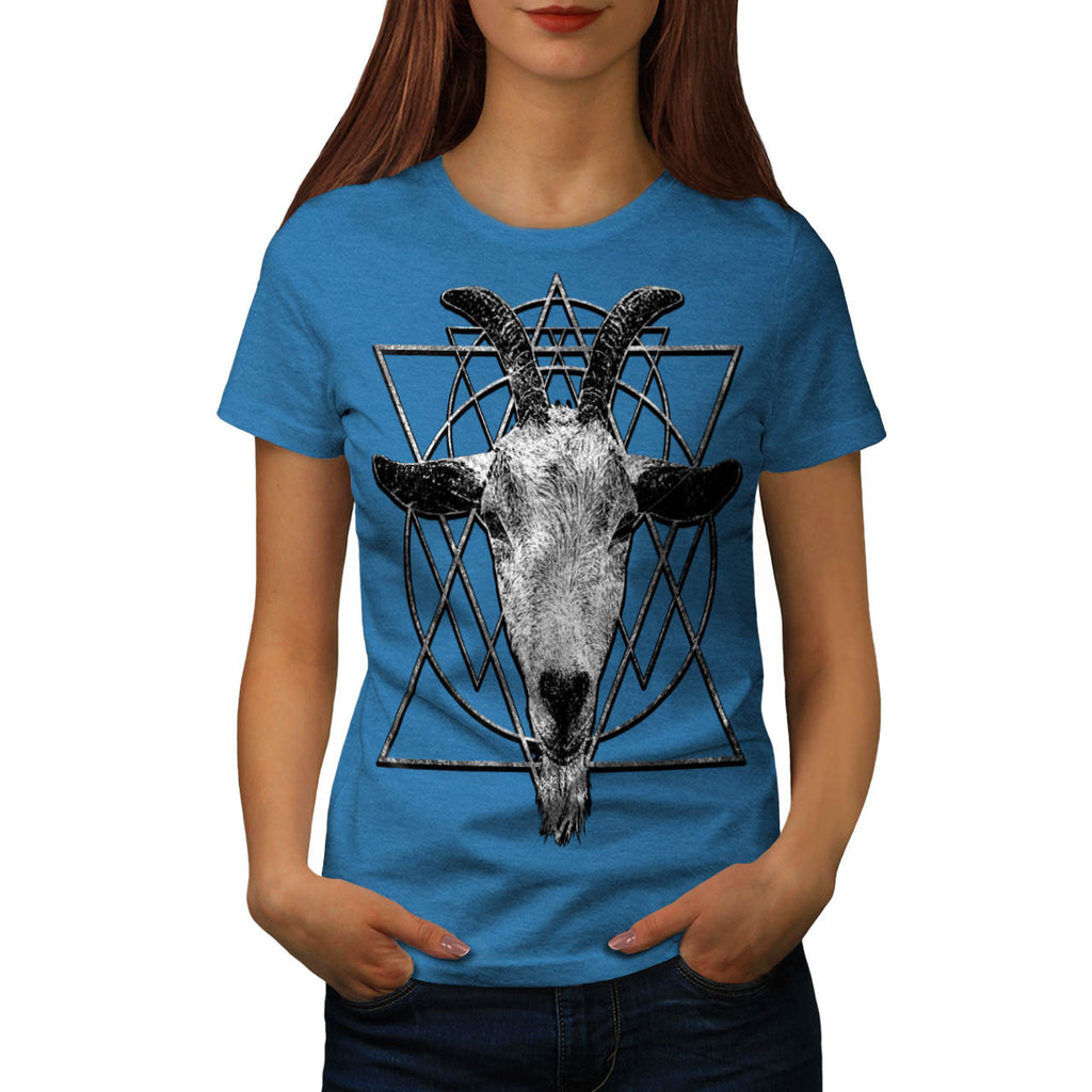 Goat Head Triangle Womens T-Shirt