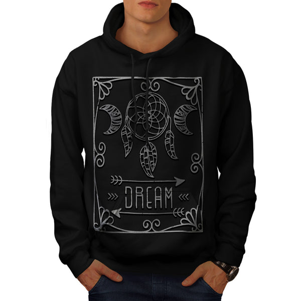 Dream Catcher Print Mens Hoodie