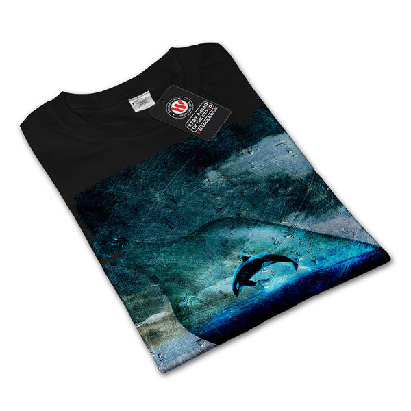 Orca Bottle Nature Mens Long Sleeve T-Shirt