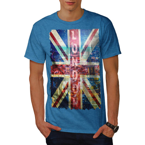 London England Art Mens T-Shirt