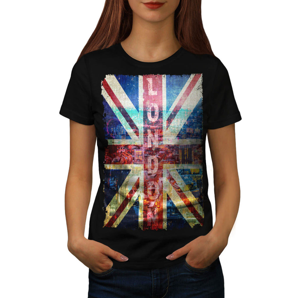 London England Art Womens T-Shirt