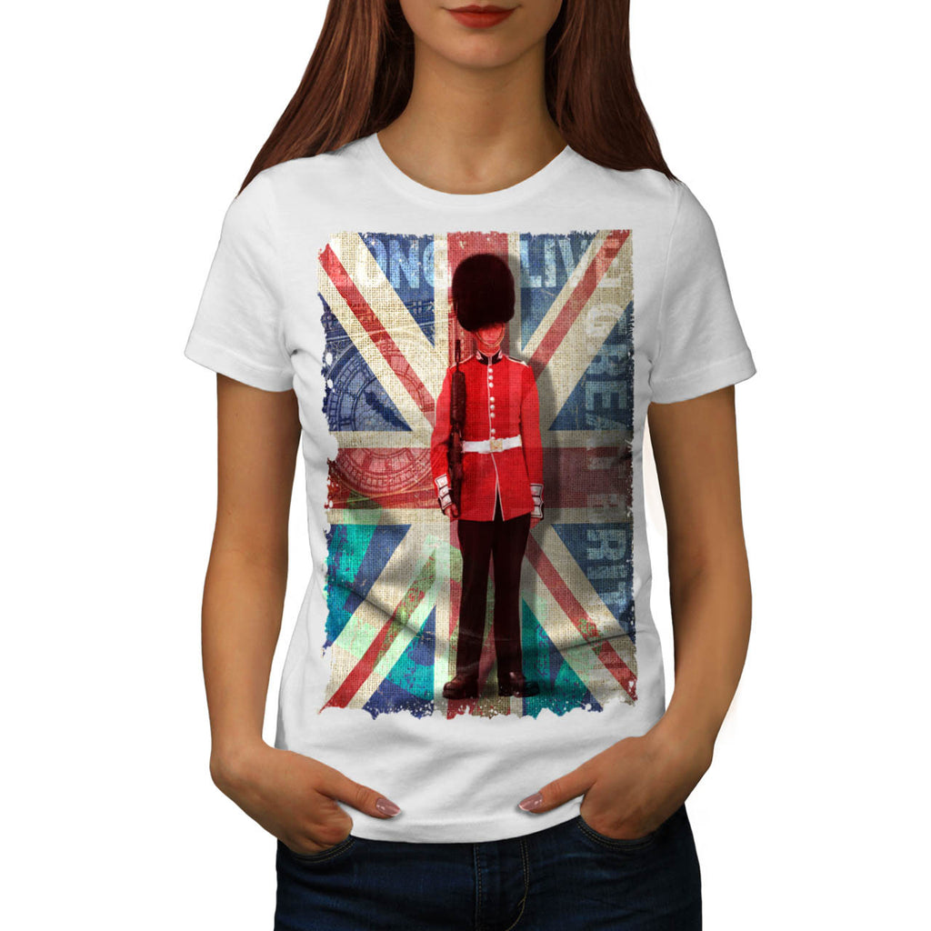 English Guard Flag Womens T-Shirt