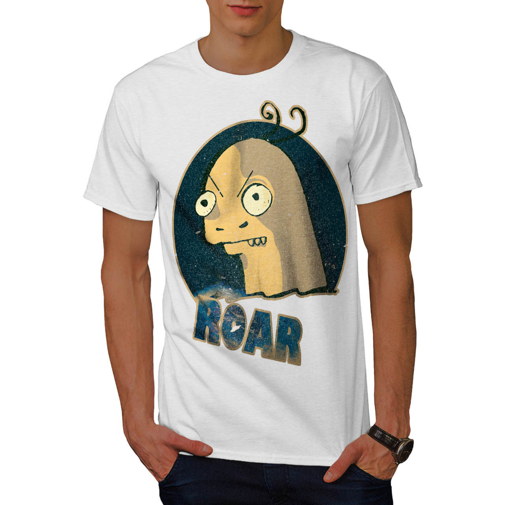Bald Head Roaring Mens T-Shirt