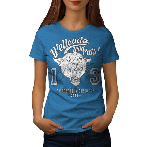 Apparel Wild Cat Team Womens T-Shirt