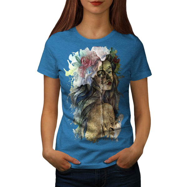 Flower Girl Blossom Womens T-Shirt