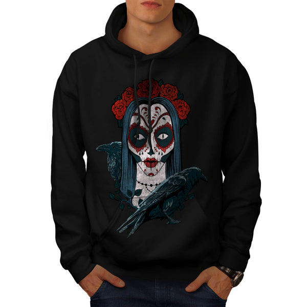 Rose Crown Female Mens Hoodie