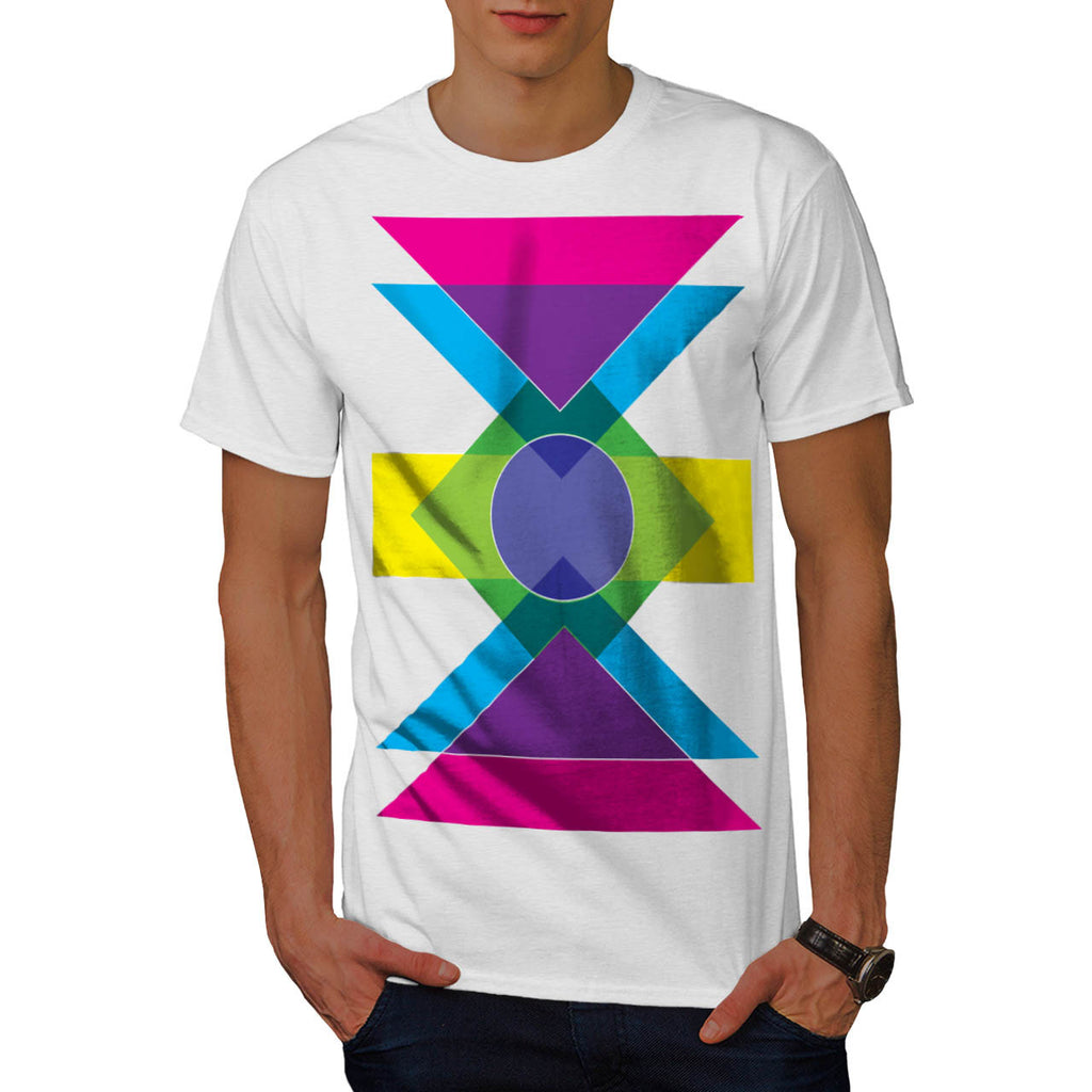 Summer Vibe Print Fun Mens T-Shirt