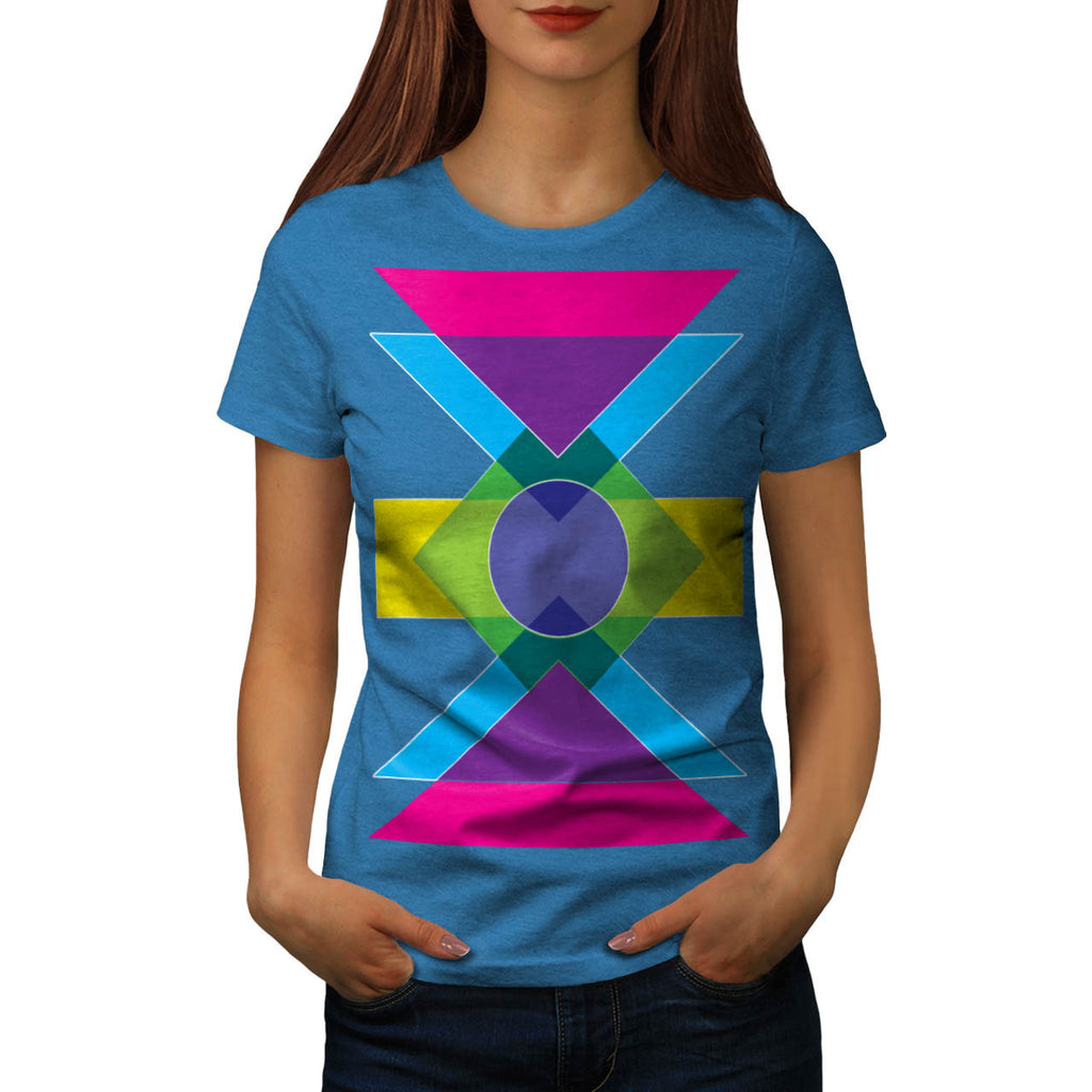 Summer Vibe Print Fun Womens T-Shirt