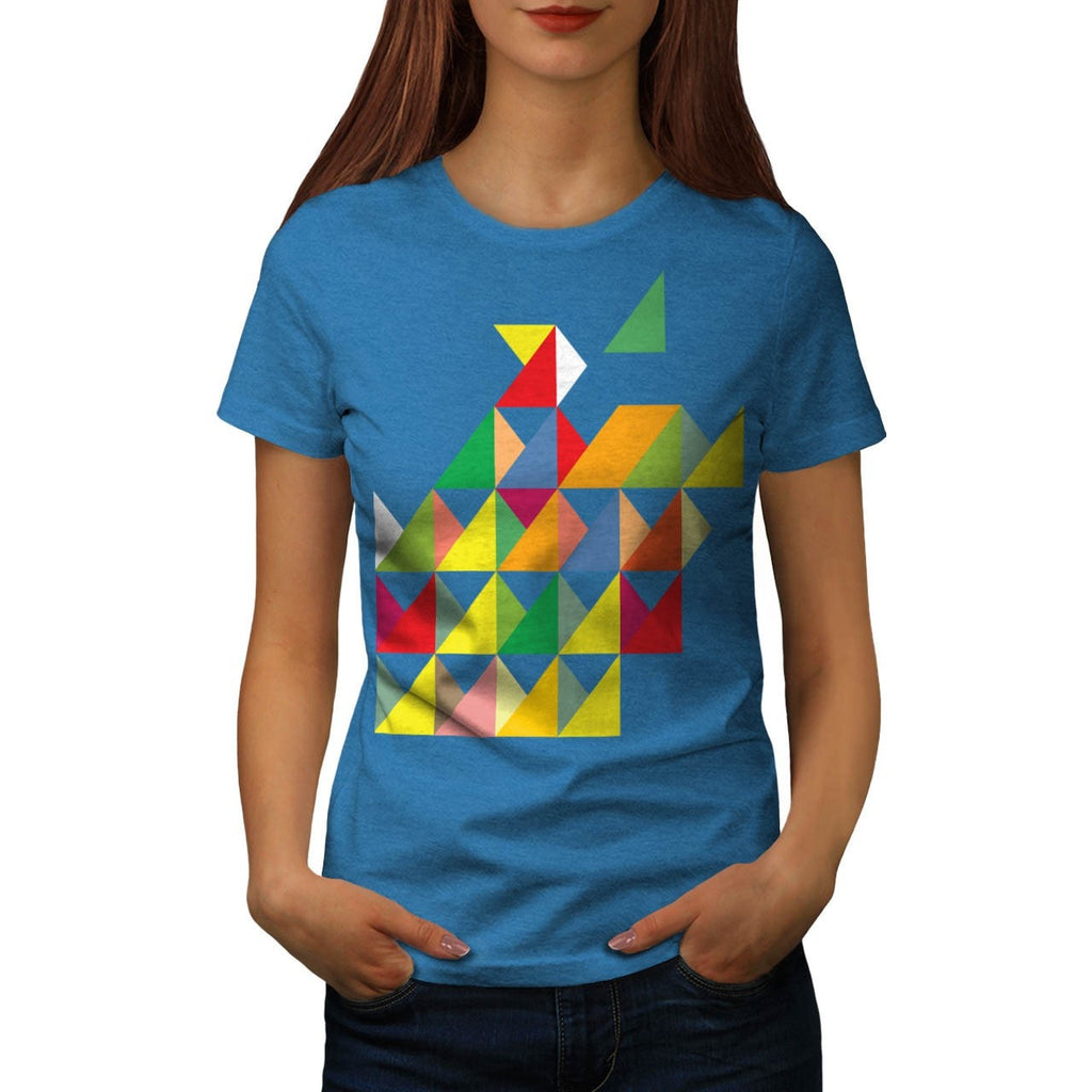 Amazing Triangle Print Womens T-Shirt